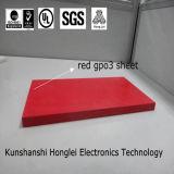 Couleur rouge/blanche de feuille de l'isolation Upgm203/Gpo-3 thermique dans le prix concurrentiel