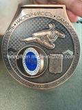 工場カスタム回転のTaekwonはメダルを卸しでする