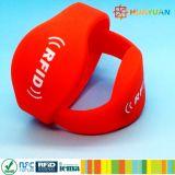 Wristband силикона Rewearable прочный RFID для гостиницы
