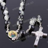 El 12-Mes de Cumpleaños Piedras serie de cristal, rosario religioso
