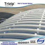 Chapa de aço de /Aluminum do material de construção novo ereto do telhado do metal do sistema de telhadura da emenda