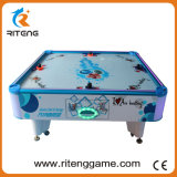 Quadratischer Würfel-Münzenluft-Hockey-Spiel-Maschine für 4 Spieler