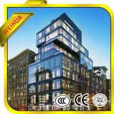 Precio de cristal aislado vidrio del vidrio de ventana/edificio