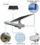 Integriertes Solar-LED-Garten-Straßenlaternemit justierbarem Sonnenkollektor