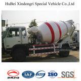 vrachtwagen van de Levering van het Vervoer van de Concrete Mixer Dongfeng de Euro 3 van 6cbm 4X2