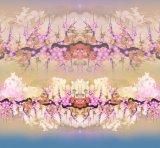 Tessuto 100% del poliestere del tessuto di stampaggio di tessuti di Digitahi (PF-011)