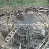 川の石造りの押しつぶすプラント、自動円錐形の粉砕機