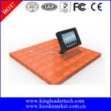 Countertop-Gans-Stutzen iPad Gehäuse-Standplatz, kann auf geeignete Ansicht eingestellt werden