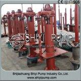 Pompe lourde verticale centrifuge de boue de carter de vidange d'axe de liquidation d'étage
