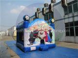 Camera gonfiabile di rimbalzo di rimbalzo poco costoso di Moonwalk per i capretti