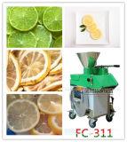Cortadora de múltiples funciones de la cebolla del limón de la legumbre de fruta, máquina de cortar de raíz del loto