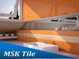 """"""" azulejo esmaltado de cerámica biselado anaranjado de la pared interior 4X12"""