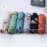 ビスコーススカーフScarf Factoryすずめによって印刷される各国用様式の方法女性
