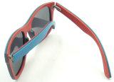 Óculos de sol de madeira do estilo clássico da boa qualidade de Fqw161258 Hotsale