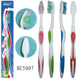 Cepillo de dientes plástico suave casero para los adultos