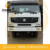 Volquete usado 6X4 del carro de vaciado de las ruedas del precio bajo HOWO 10 con las buenas condiciones para África