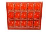 Scheda elettronica del PWB di Fr4 Componenmts con la scheda dell'olio del peperoncino rosso