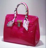 Подгонянный мешок руки Beachkin студня конфеты PVC цветов с шарфом Twilly (XP1067)