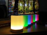 Altavoz sin hilos de Bluetooth 2.1 de la sincronización del RGB del amortiguador de la lámpara elegante del tacto