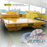 De Vlakke Aanhangwagen van het Spoor van de Kar van de Rol van het staal voor het Overbrengen van Lading