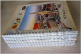 Kundenspezifisches Schule-Briefpapier-preiswertes Massenkursteilnehmer-Papier-Übungs-Buch-gewundenes Notizbuch