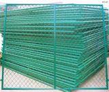 Frontière de sécurité galvanisée plongée chaude de fil d'acier/maillon de chaîne/niveau à faible teneur en carbone