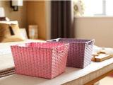 Cesta de papel natural hecha a mano de la alta calidad (BC-PB1012)