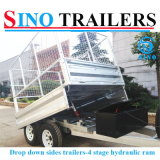 De Aanhangwagen van de vrachtwagen