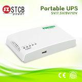 モデムのルーターのためのEcoの携帯用モード小型UPS 12V 9V 5V