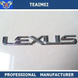 Divisa del emblema de la insignia del coche del cromo del ABS de Maunufaturing para la decoración