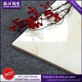 2016 venta caliente 400&times de cerámica blanco; azulejo de cerámica de la pared del azulejo de Pocerlain del interior de 800m m