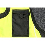 A segurança dos homens por atacado veste a veste reflexiva da visibilidade elevada