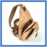 Sac de papier matériel neuf de sac à dos personnalisé par usine de sport en plein air de Dupont, sac d'épaule simple de papier de Tyvek de promotion avec la courroie réglable
