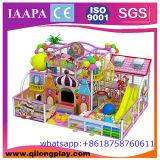 子供のゲームのプラスチックスライドの運動場装置の屋内柔らかい演劇