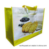 Impression personnalisée PP Lamination Woven Shopping Handle Bag