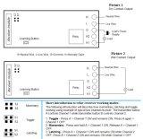 Interruptor remoto AC220V Código inclinada 1 canal inalámbrico RF-Kl K110X