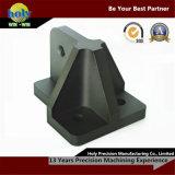 융기 정지 마운트 광택이 없는 양극 처리한 CNC에 의하여 기계로 가공된 알루미늄은 CNC 맷돌로 가는 서비스를 분해한다