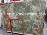 Losas del jade de la piedra del mármol de Onyx del jade del verde del nuevo producto