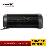 車のための11inch 24V LEDのトラックライト108W LED棒