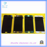 Передвижной франтовской экран касания LCD сотового телефона для Samsung S6 G9200 G920F