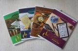 Caderno barato da escola da faculdade do livro de exercício do papel do estudante do volume A4 A5