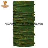 Écharpe multifonctionnelle de recyclage extérieure de tube de foulard de couleur chamois