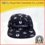 Tampão do algodão do esporte do algodão do chapéu do lazer com logotipo da impressão