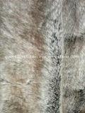 山の毛皮の偽造品の毛皮ののどの毛皮のArticialの高い毛皮の衣服のための長いパイル生地か靴または帽子