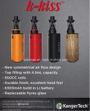Kangertech 2017 más nuevo K-Besa los cigarrillos electrónicos de la batería incorporada grande 6500mAh