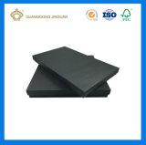 Rectángulo de papel de empaquetado del regalo negro lleno de la alta calidad (con la laminación de Matt)