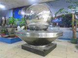 Escultura Polished de la esfera del acero inoxidable del espejo de la bola 304 grandes de encargo de la decoración de China
