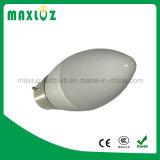 C37 barato 4W LED luz de la vela IC controlador de aluminio