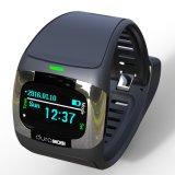 0.96 pulgadas OLED IP65 impermeabilizan el reloj elegante con las vendas duales Bluetooth y el ritmo cardíaco dinámico, ECG, presión arterial, monitor del sueño
