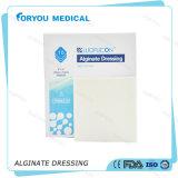 Las muestras libres médicas de Foryou absorben Aquacel flúido AG de la herida que viste la preparación de plata del alginato de 50X50m m